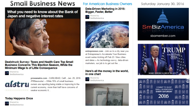 Small Business News 013016