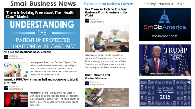 Small Business News 013116