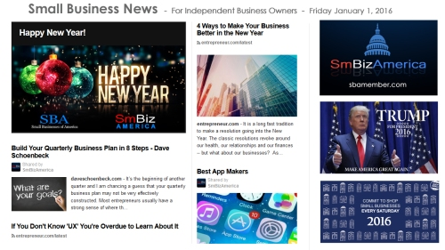 Small Business News 2016