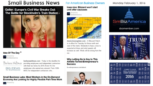 Small Business News 020116