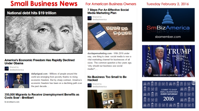 Small Business News 020216