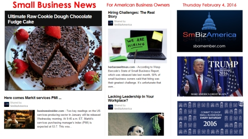 Small Business News 020416