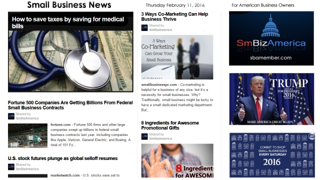 Small Business News 2.11.16