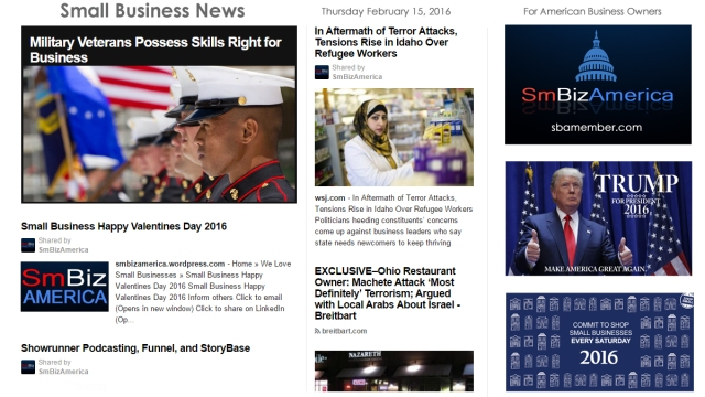 Small Business News 2.15.16