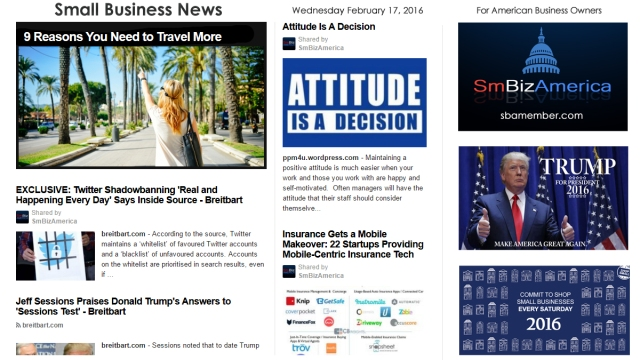 Small Business News 2.17.16