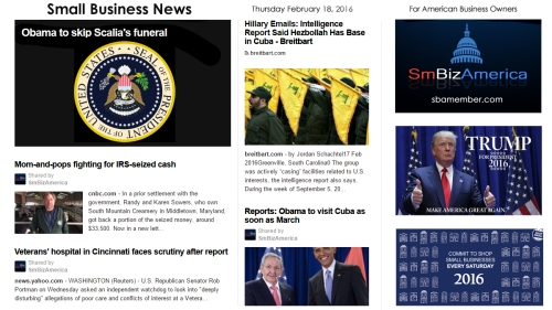 Small Business News 2.18.16