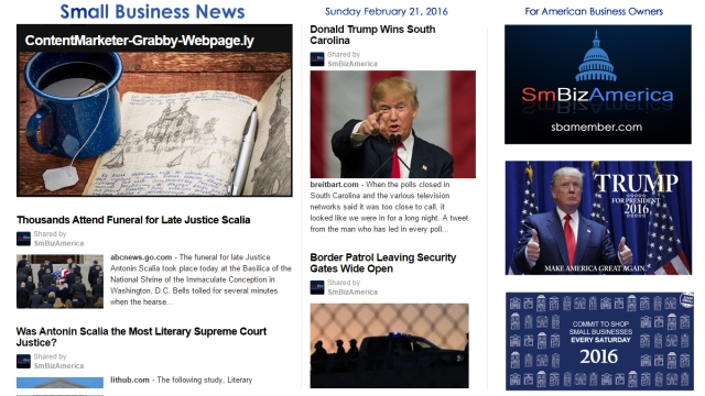 Small Business News 2.21.16