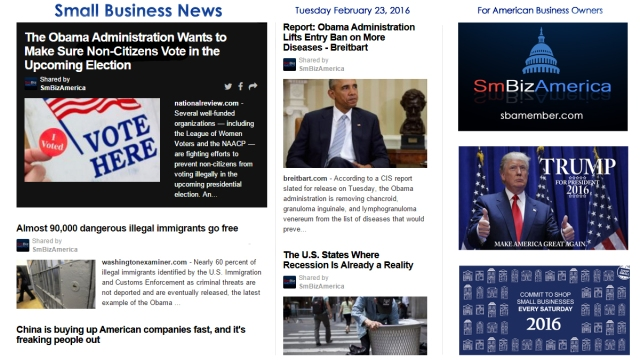Small Business News 2.23.16