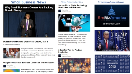Small Business News 2.26.16