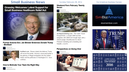 Small Business News 2.28.16