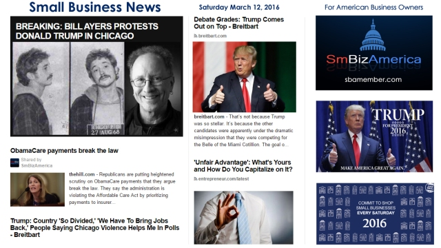 Small Business News 3.12.16