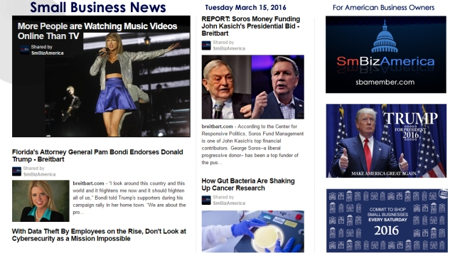 Small Business News 3.15.16