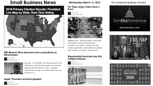 Small Business News 3.16.16