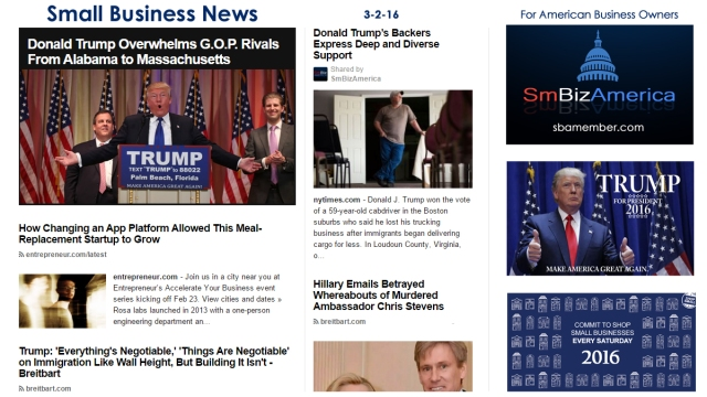 Small Business News 3.2.16
