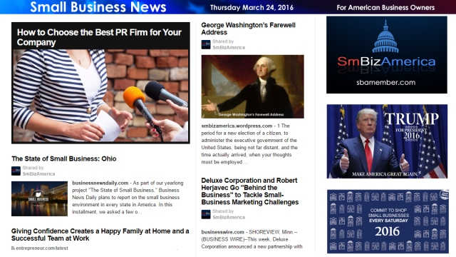 Small Business News 3.24.16