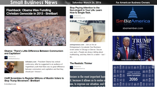 Small Business News 3.26.16