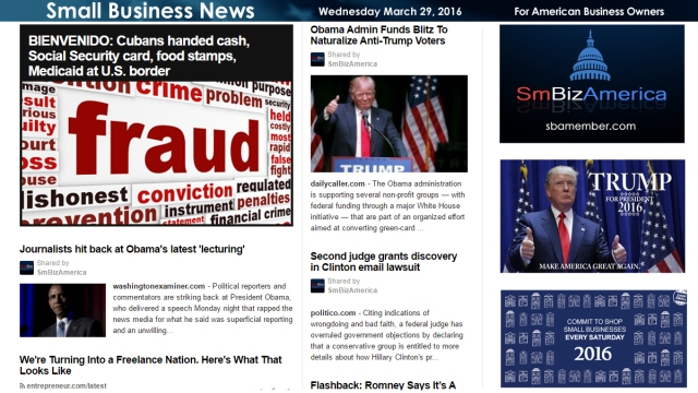 Small Business News 3.30.16
