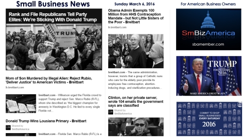 Small Business News 3.6.16