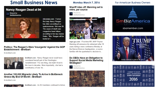 Small Business News 3.7.16