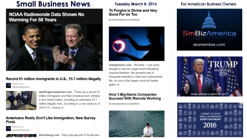 Small Business News 3.8.16