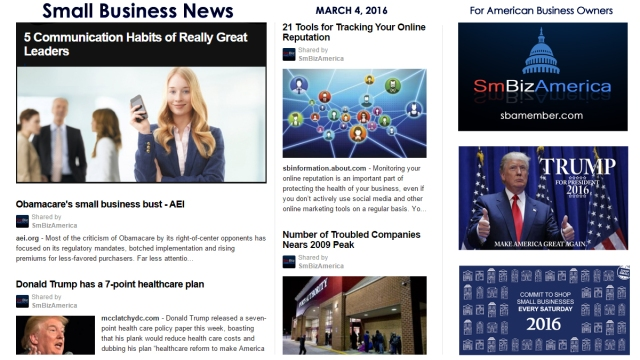Small Business News Friday 3.4.16