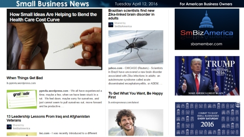 Small Business News 4.12.16