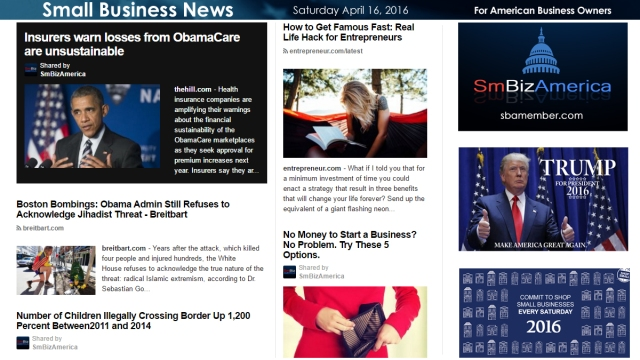 Small Business News 4.16.16