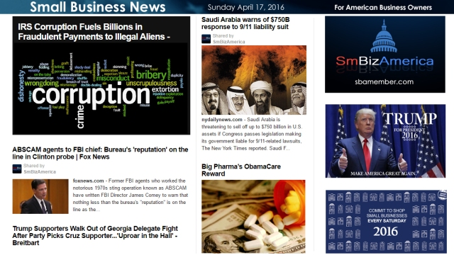 Small Business News 4.17.16