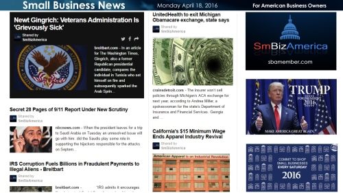 Small Business News 4.18.18