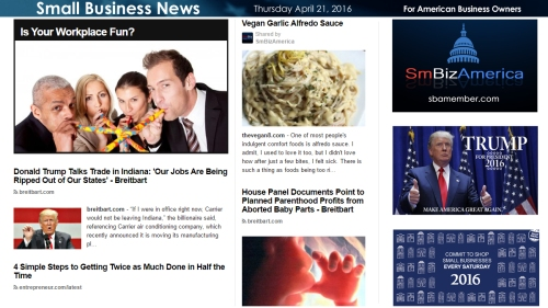 Small Business News 4.21.16
