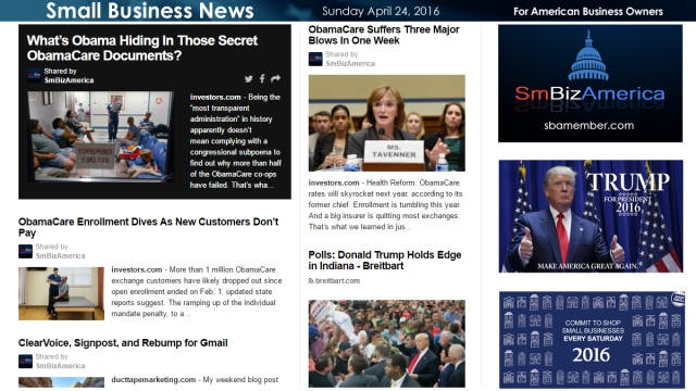 Small Business News 4.24.16