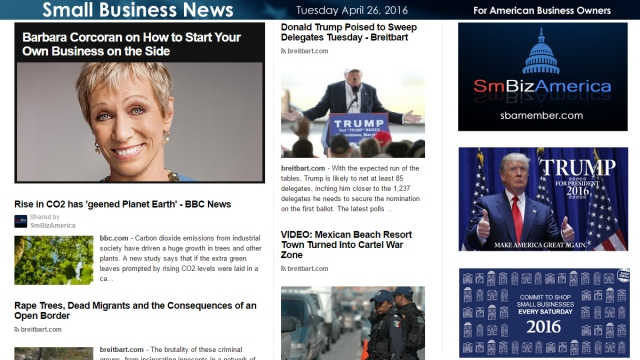 Small Business News 4.26.16