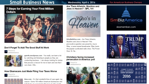 Small Business News 4.6.16