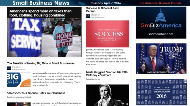 Small Business News 4.7.16