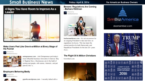 Small Business News 4.8.16