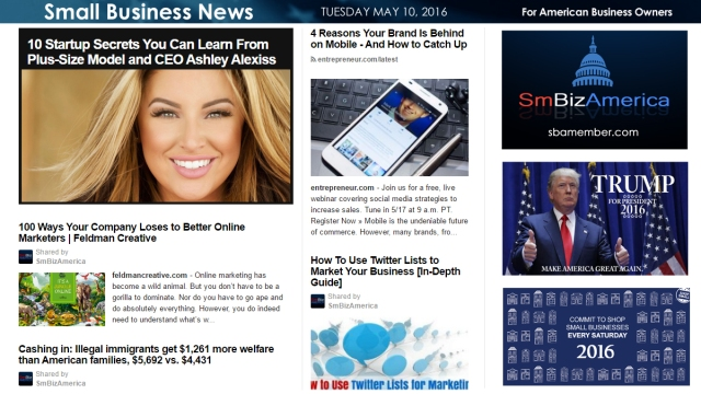 Small Business News 5.10.16