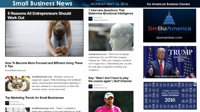 Small Business News 5.16.16