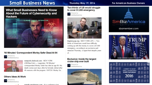 Small Business News 5.19.16