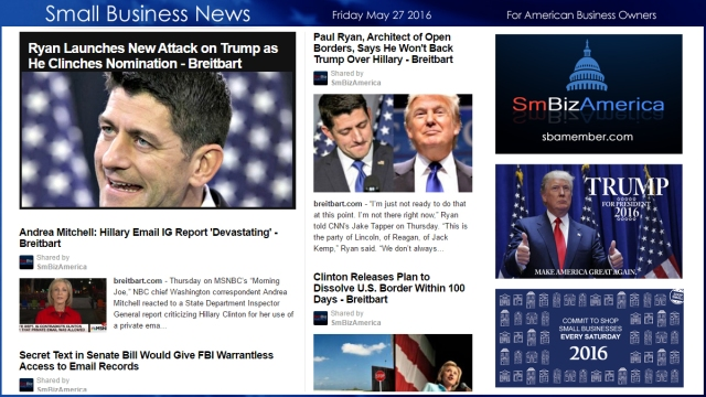 Small Business News 5.27.16