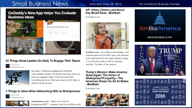 Small Business News 5.28.16
