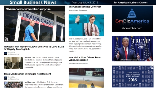 Small Business News 5.3.16