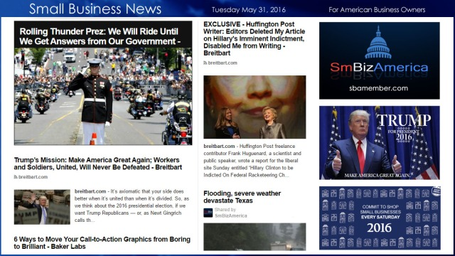 Small Business News 5.31.16
