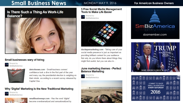 Small Business News 5.9.16