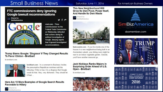 Small Business News 6.11.16