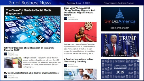 Small Business News 6.12.16