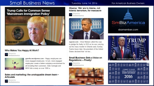 Small Business News 6.14.16