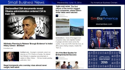 Small Business News 6.15.16