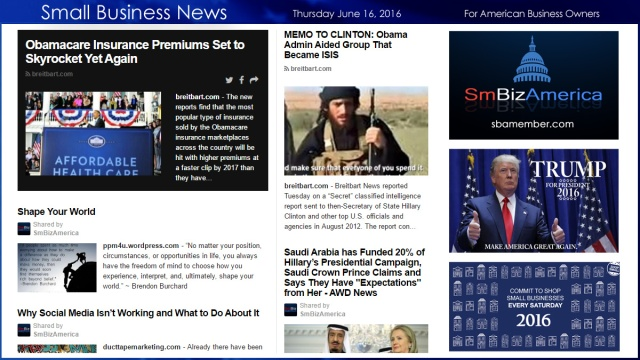Small Business News 6.16.16