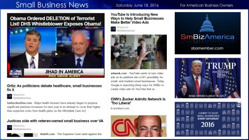 Small Business News 6.18.16