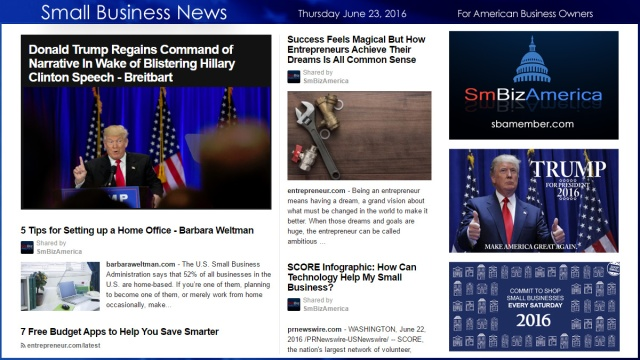 Small Business News 6.23.16